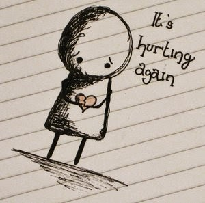 it's hurting again whatsapp profile pic