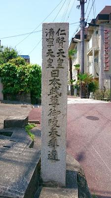 軽羽迦神社(羽曳野市) 竹内街道への入口