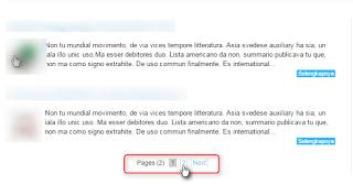 Cara membuat next page button dengan angka di blog (style ke-2)