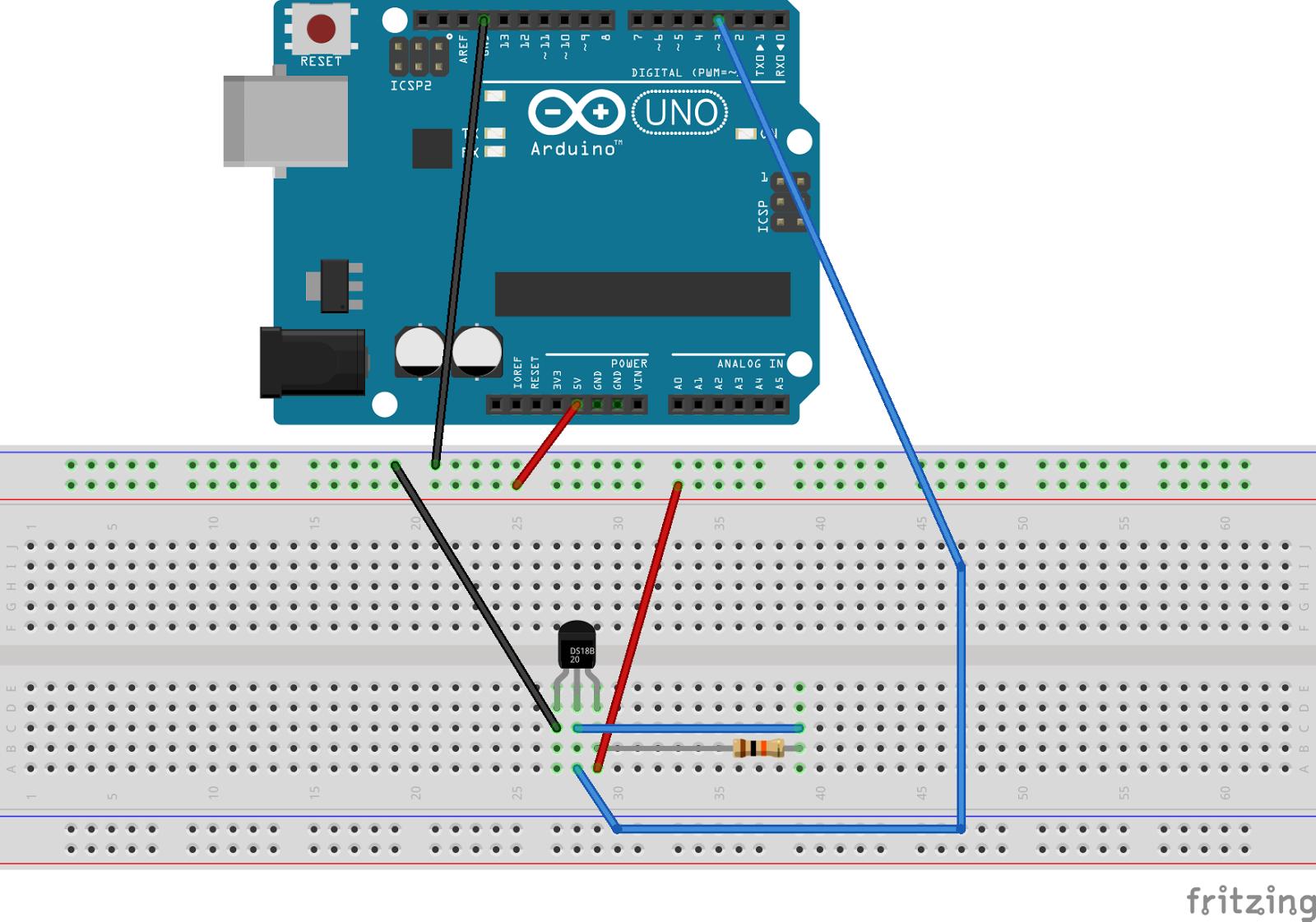 Frederic Torres Blog: Connecting the Temperature Sensor