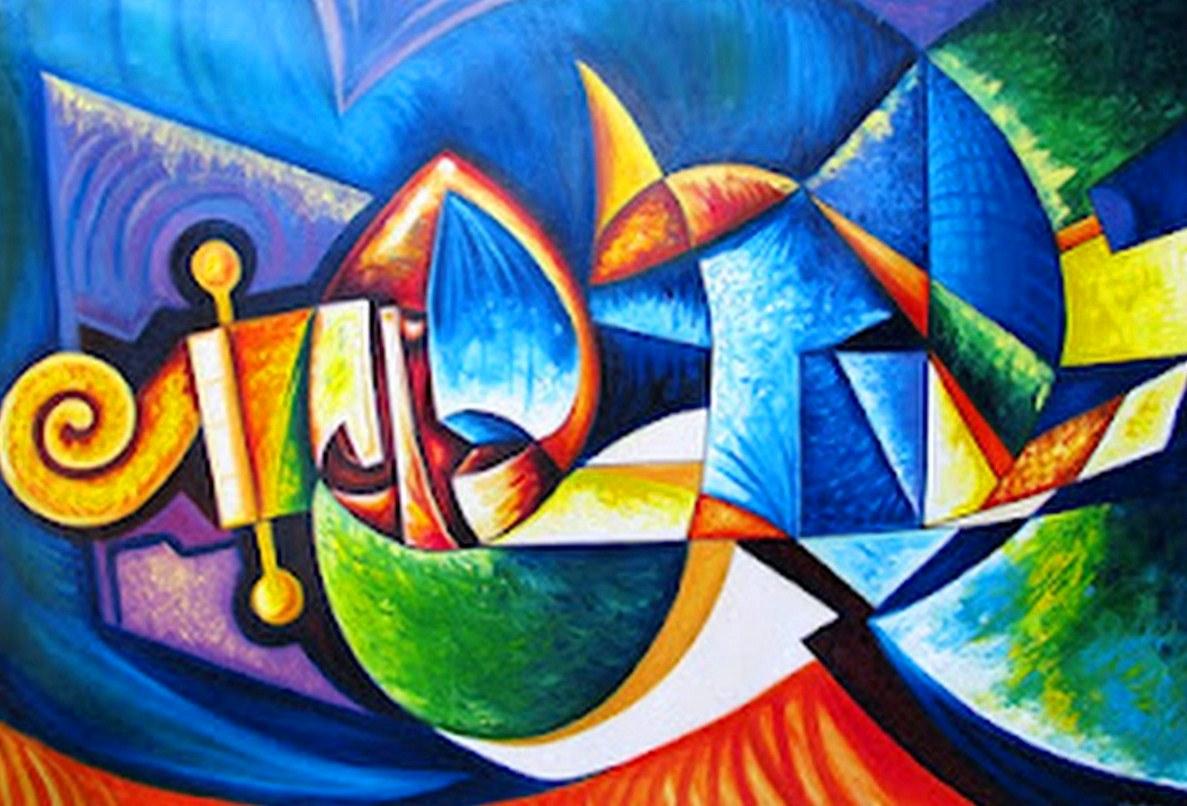 Saricole Murales Inspirados En Los Cuadros De Romero Brito: Pintura Moderna Y Fotografía Artística : CUADROS DECORACION