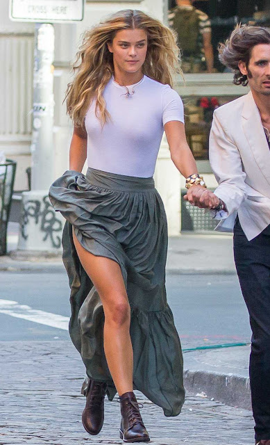 Nina Agdal Photoshoot in New York