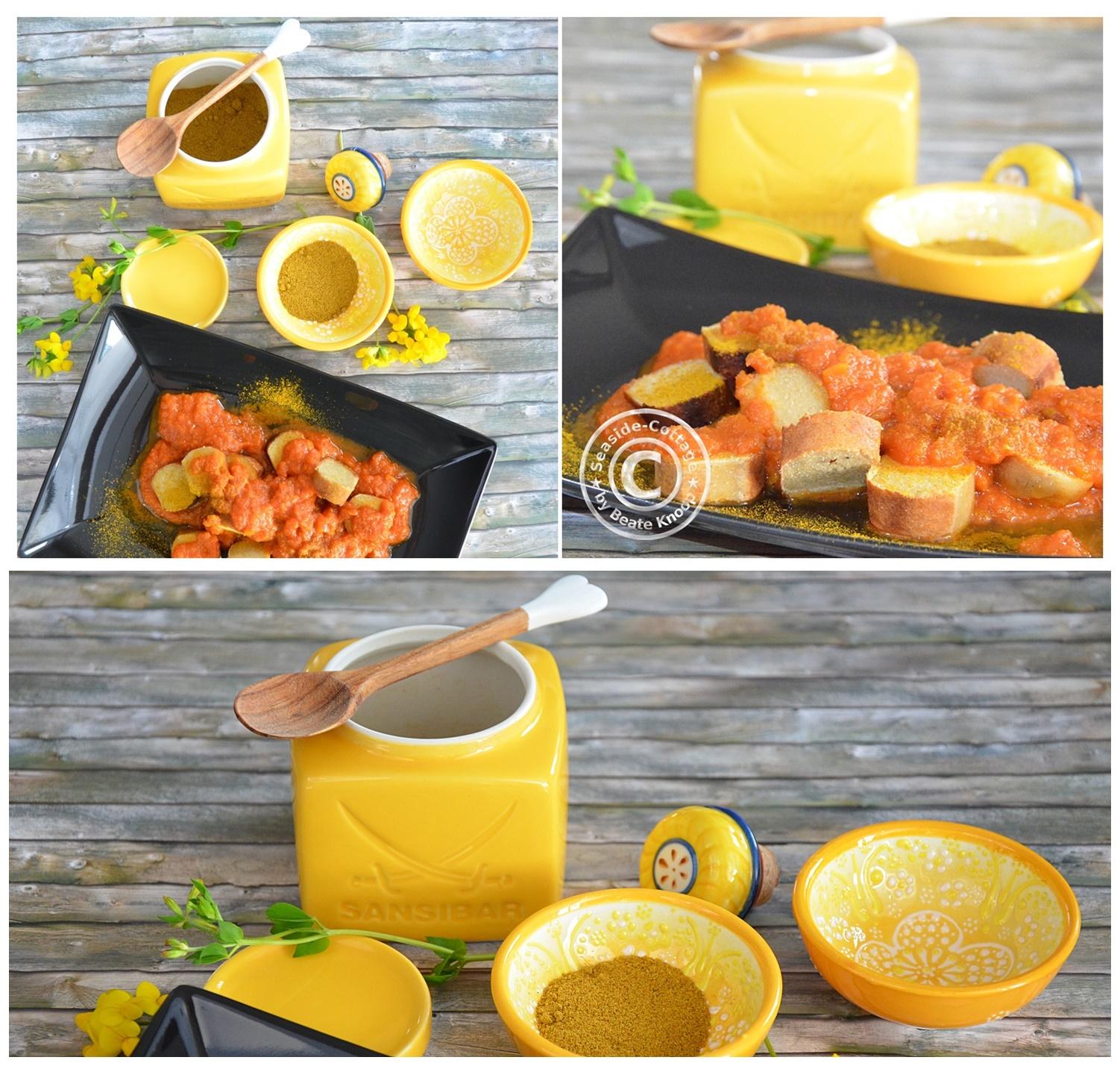 currysauce sansibar auch f r vegetarier seaside cottage. Black Bedroom Furniture Sets. Home Design Ideas