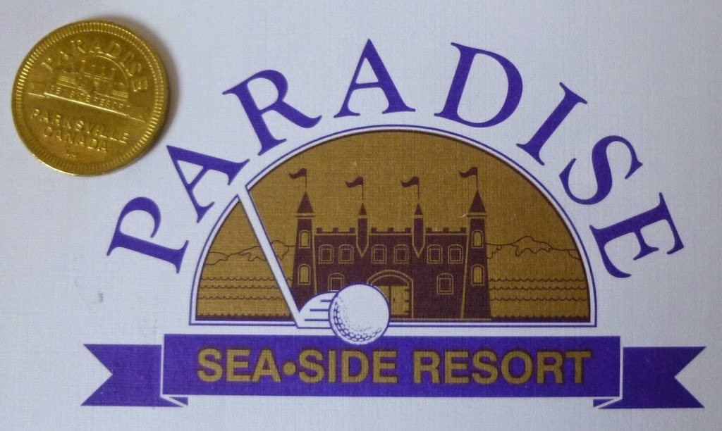 Paradise Seaside Resort in Parksville, Vancouver Island is home to a fun park and two miniature golf courses