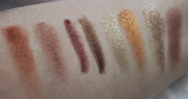 Mac Amber Lights Eyeshadow Swatched