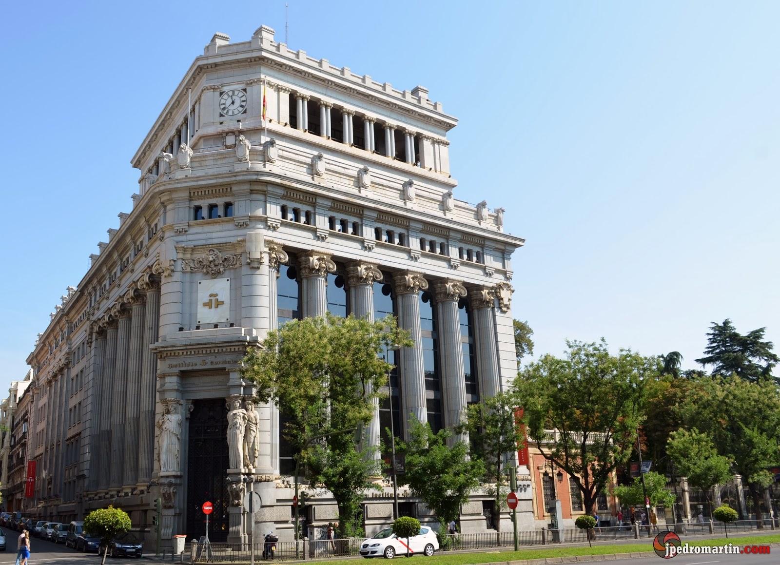 Madrid x plaza de la cibeles y puerta de alcal j for Edificio puerta real madrid
