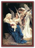 Песнь ангелов (по картине Adolphe W.Bouguereau)