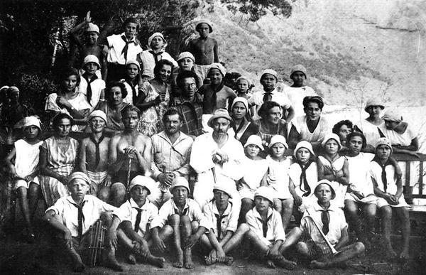 Артековцы, 1927 год