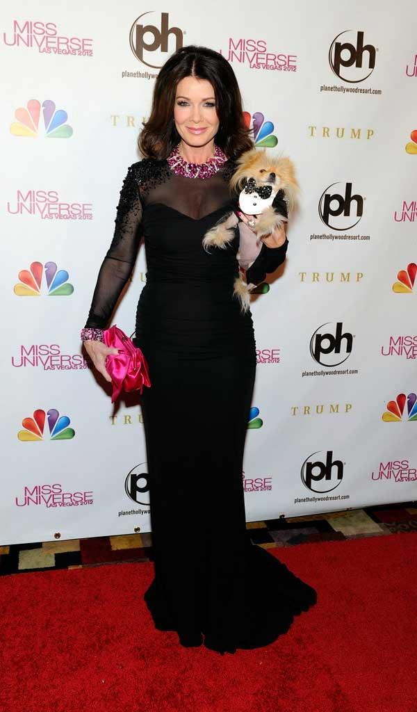 Lisa Vanderpump Evening Dress Celebrities Style