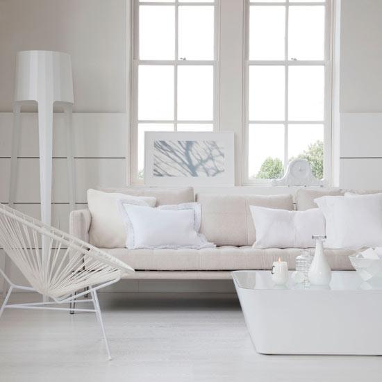 white living room living room decorating ideas living rooms livingetc. Black Bedroom Furniture Sets. Home Design Ideas