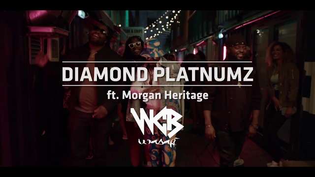 Diamond Platnumz Ft Morgan Heritage - Hallelujah Video