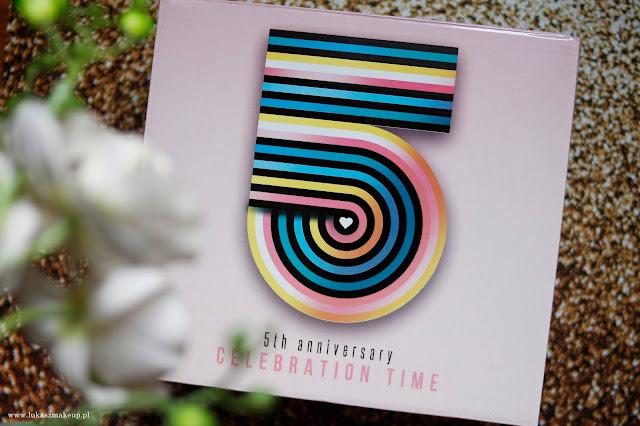 shinybox urodzinowe pudełko