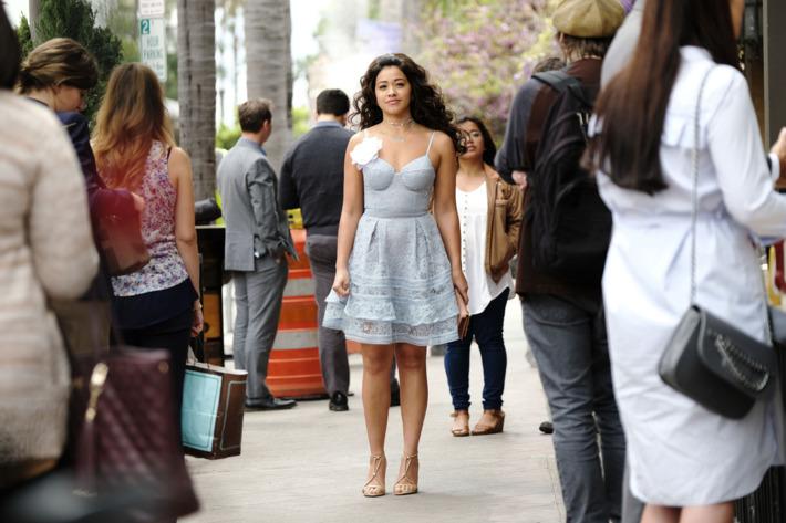 Jane Villanueva en las calles de Miami