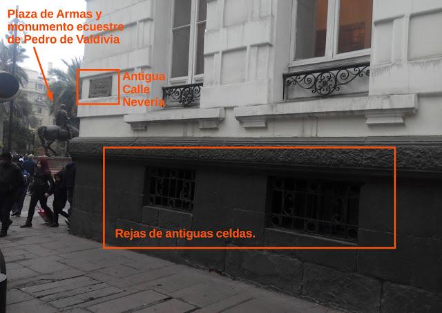 Antigua calle de la Nevería de Santiago de Chile