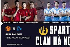 13h30 ngày 19/1, Sparta vs Hà Nội: Khởi động chờ HNO9