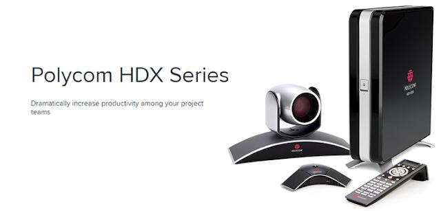 Hệ thống hội nghị truyền hình Polycom HDX series