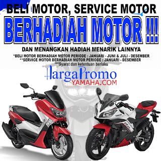 Beli Motor Yamaha Berhadiah Motor