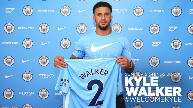 OFICIAL: Kyle Walker é o novo reforço do Manchester City