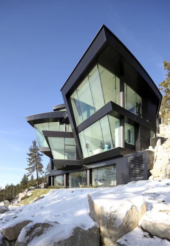 Architecture Interesting Exterior Home Design With: Modern Residences Exterior Small Villas Designs Ideas