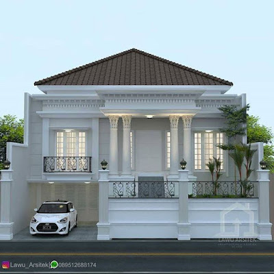 Model rumah cantik sederhana