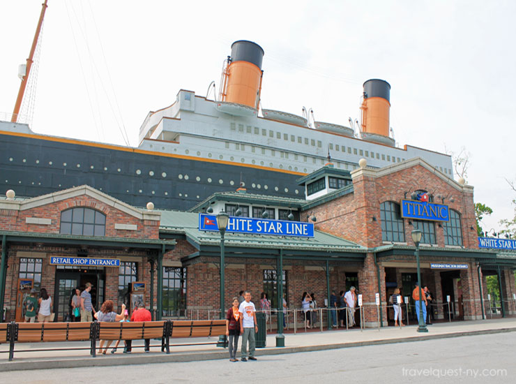 Titanic Museum at Pigeon Forge Tennessee | Travel Quest ...