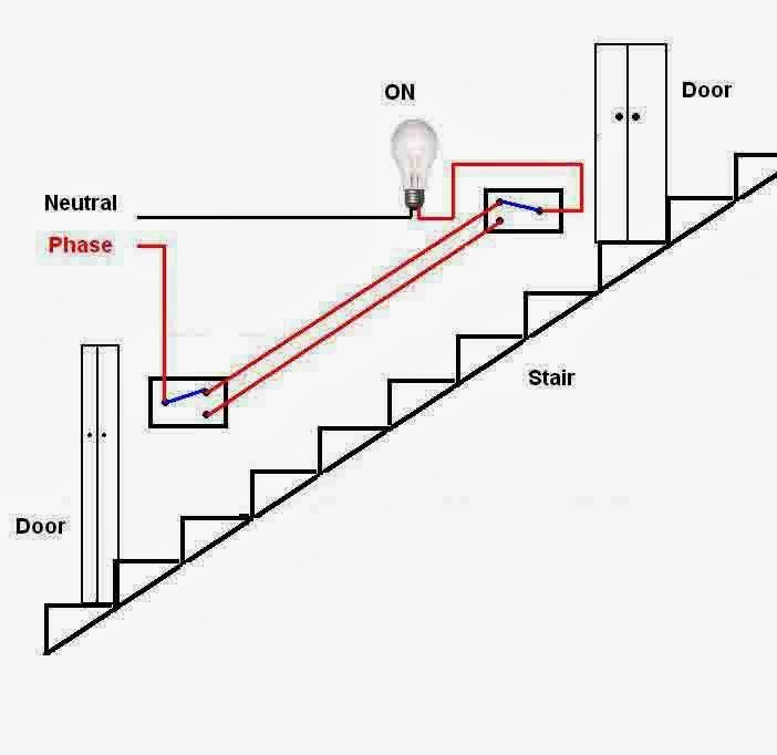 staircase wiring 2 way switches