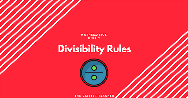 Divisibility rules. Maths Year 6