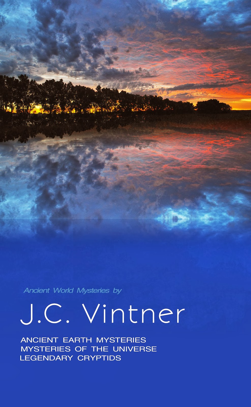 J.C. Vintner's Ancient World Mysteries Book Cover