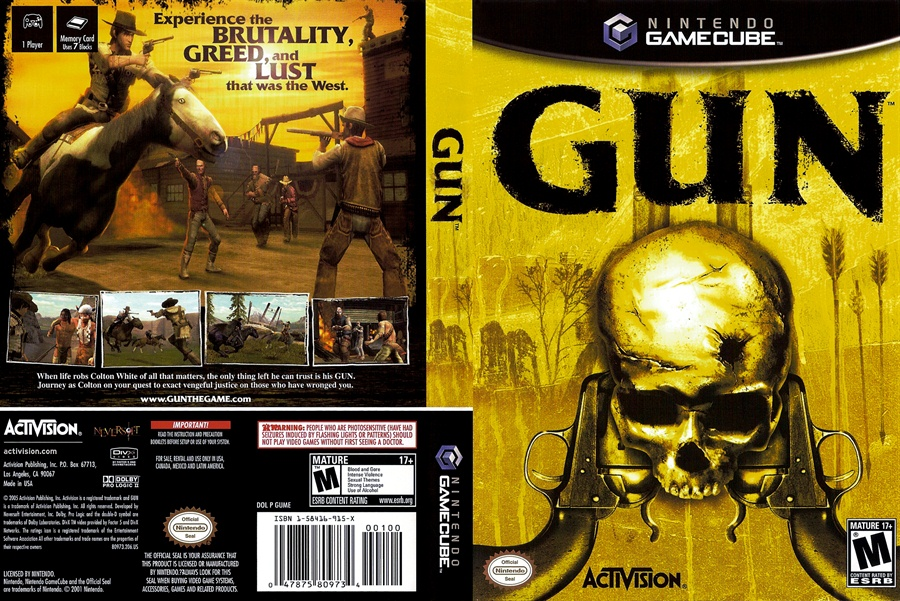 Gun PC Game Free Download Full Version Poster