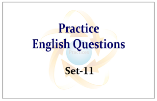 Practice English Questions for Upcoming Bank PO and Clerk Exams 2015 Set-11