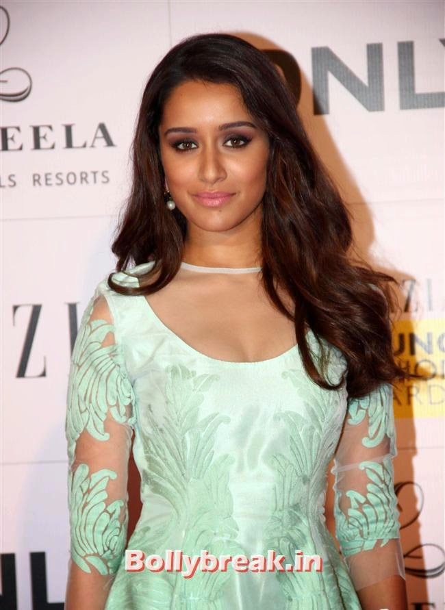 Shraddha Kapoor, Hottest Celebs of Bollywood at Grazia Young Fashion Awards 2014
