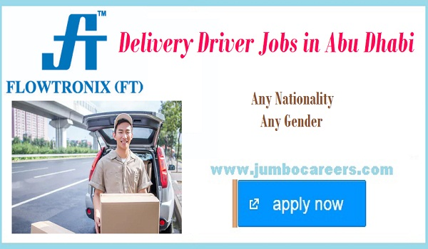 Delivery jobs in Abu Dhbai, Find all vacancies in Abu Dhabi,