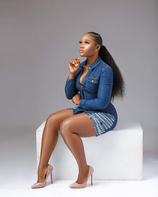BBNaija star CeeC sizzles in denim