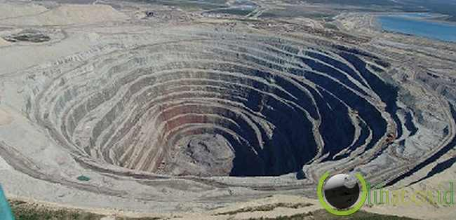 Pertambangan escondida, Chile
