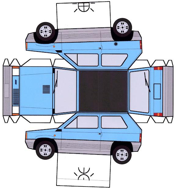 Todorecortables sue os de papel coches y camiones recortables for Mercedes garage 93