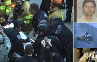 Νέα Υόρκη: Η στιγμή της σύλληψης του δράστη που αποπειράθηκε να ανατινάξει τον σταθμό λεωφορείων