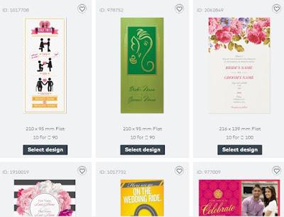 wedding invitation sample cards