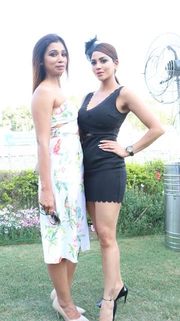 Sakshi Sharma(Mrs India International 2016 with Ankita Tiwari)