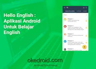 Hello English : Aplikasi Android Untuk Belajar English(Bahasa Inggris)
