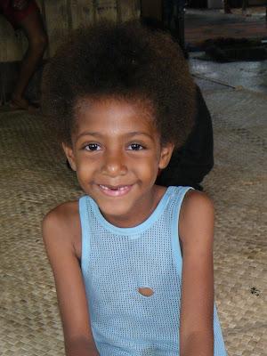 Fijian hair
