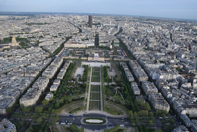 Panoramic view from Eiffel Tower | Best of Paris in evening, an evening in Paris#Paris #Travel