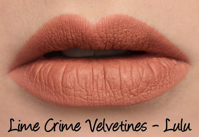 Lime Crime Velvetines - Lulu Swatches & Review
