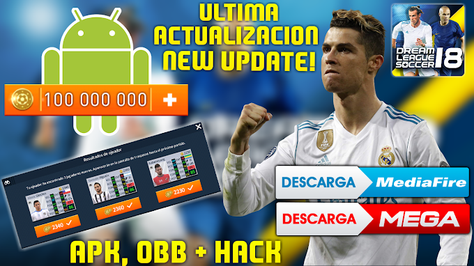 DREAM LEAGUE SOCCER 2018 APK + OBB MONEDAS INFINITAS ULTIMA ACTUALIZACION ANDROID OFFLINE