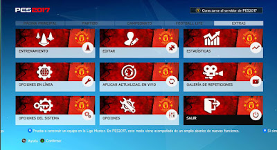 PES 2017 Manchester United Themes by JAS