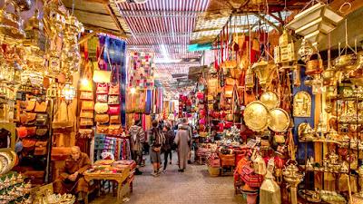 Souq Oudaya, Pasar Tradisional Lengkap Di Rabat