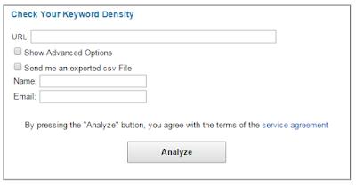 Add me tool for keyword analysis