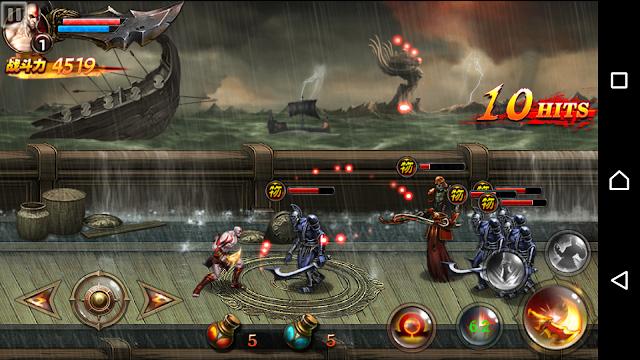 God of war Chain of Olympus Apk- Para qualquer aparelho android Apenas 86MB
