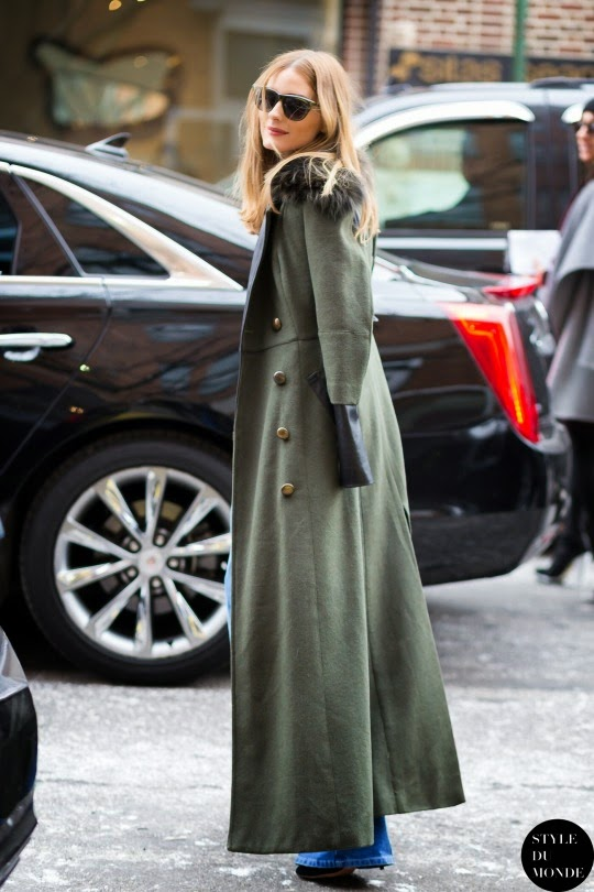 Olivia Palermo At New York Fashion Week X