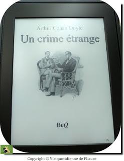 Vie quotidienne de FLaure : Un crime étrange (une étude en rouge) - Doyle Conan Arthur