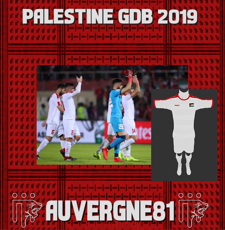 PES 2013 Palestine GDB asian cup 2019 by Auvergne81